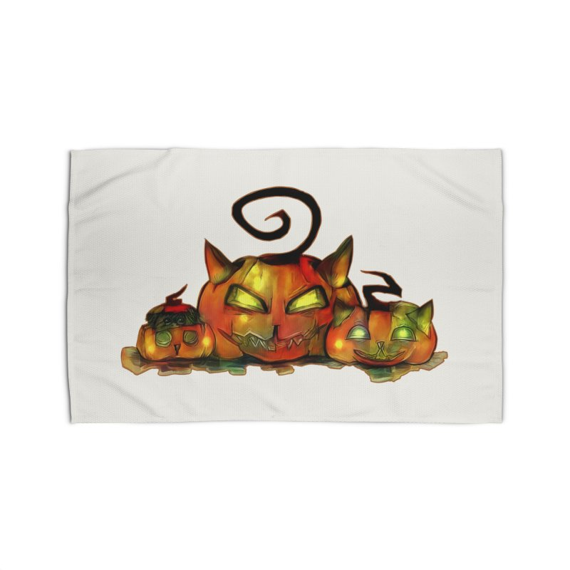 Halloween Home Rug by Catopathy