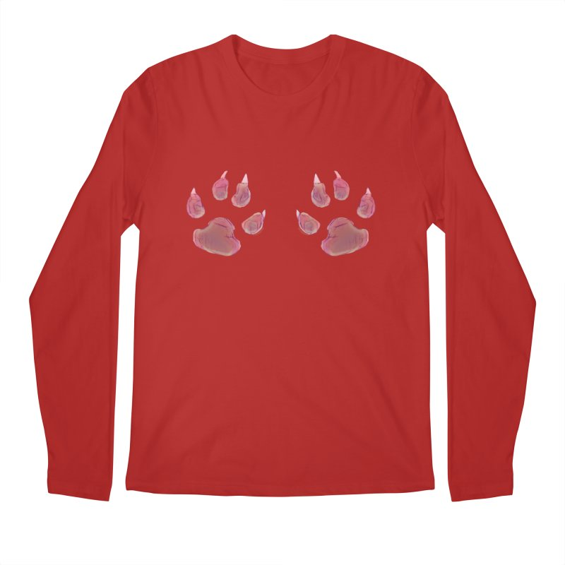 Paws Men's Longsleeve T-Shirt by Catopathy