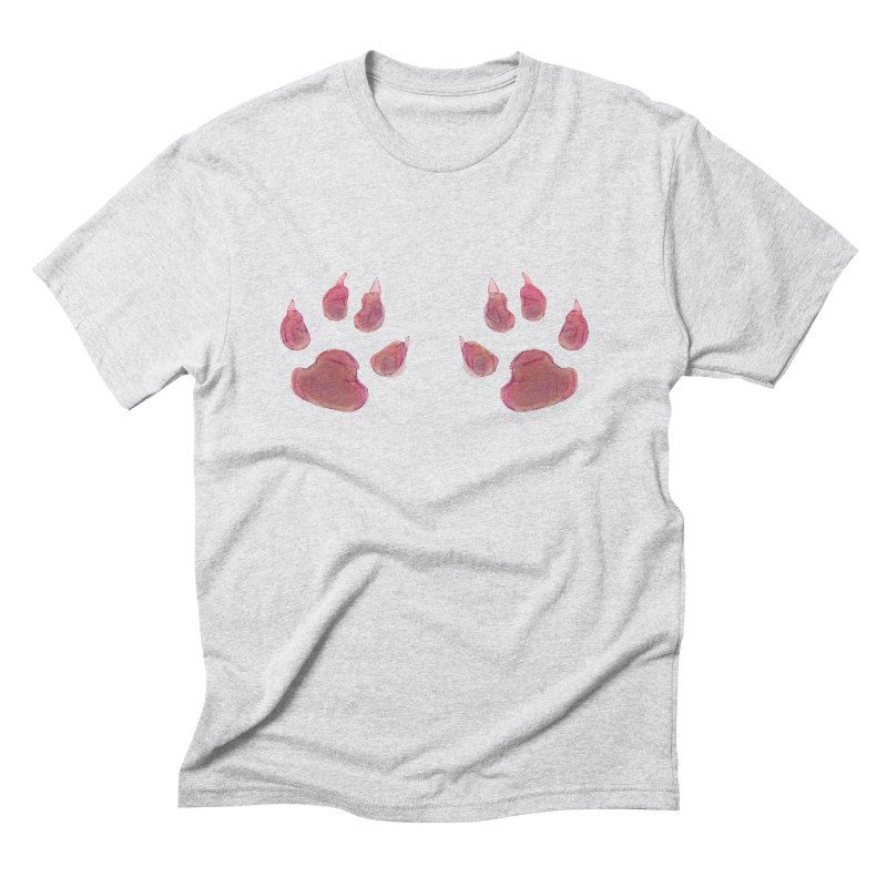Paws Men's Triblend T-shirt by Catopathy