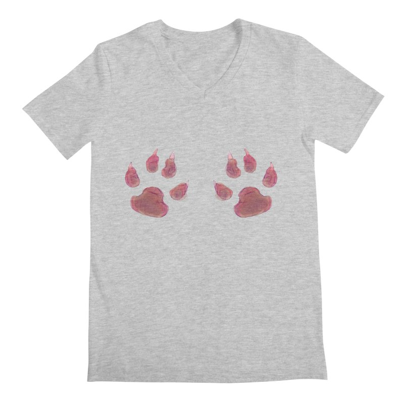 Paws Men's V-Neck by Catopathy