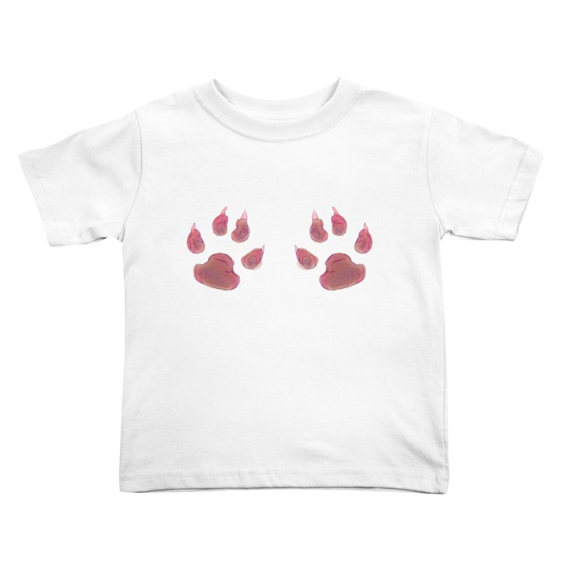 Paws Kids Toddler T-Shirt by Catopathy
