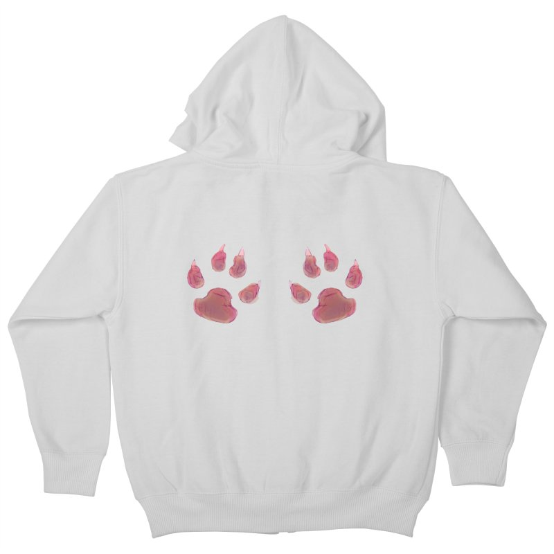 Paws Kids Zip-Up Hoody by Catopathy