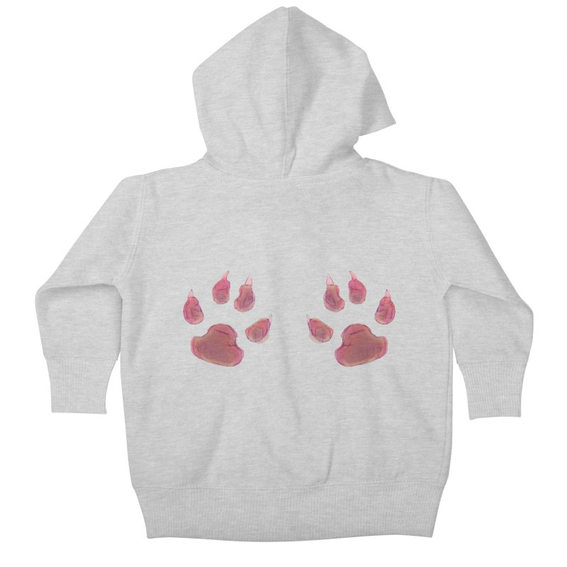 Paws Kids Baby Zip-Up Hoody by Catopathy