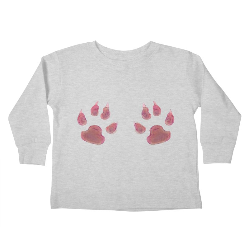 Paws Kids Toddler Longsleeve T-Shirt by Catopathy