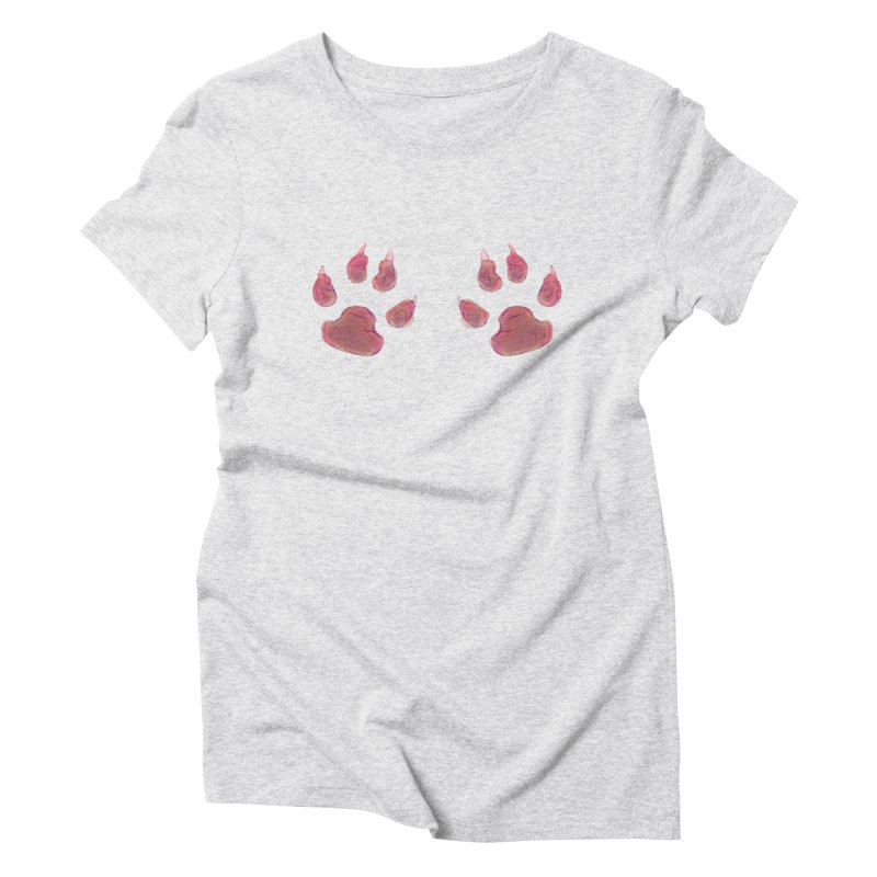 Paws Women's Triblend T-Shirt by Catopathy
