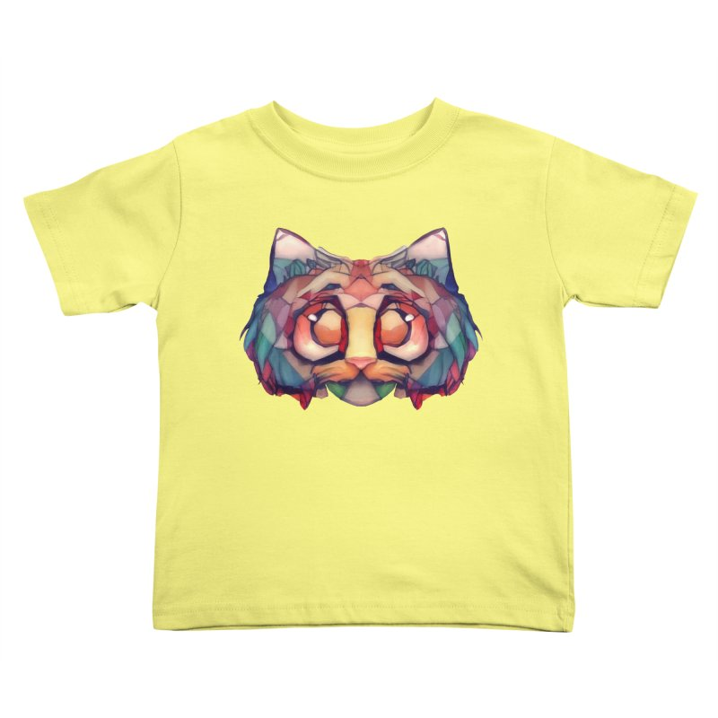 Flying Head Kids Toddler T-Shirt by Catopathy