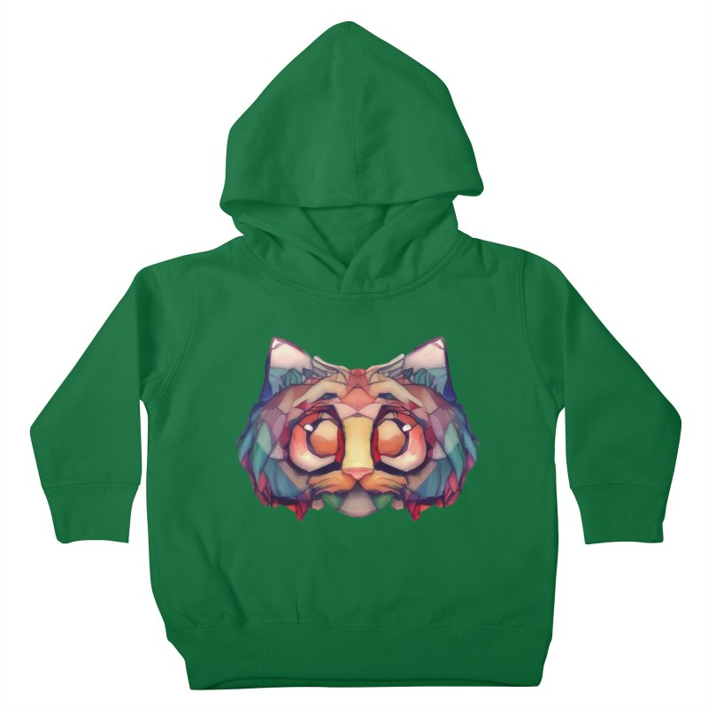 Flying Head Kids Toddler Pullover Hoody by Catopathy