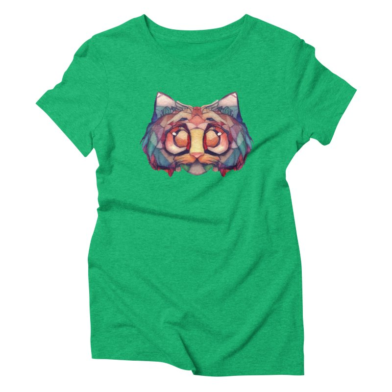 Flying Head Women's Triblend T-shirt by Catopathy