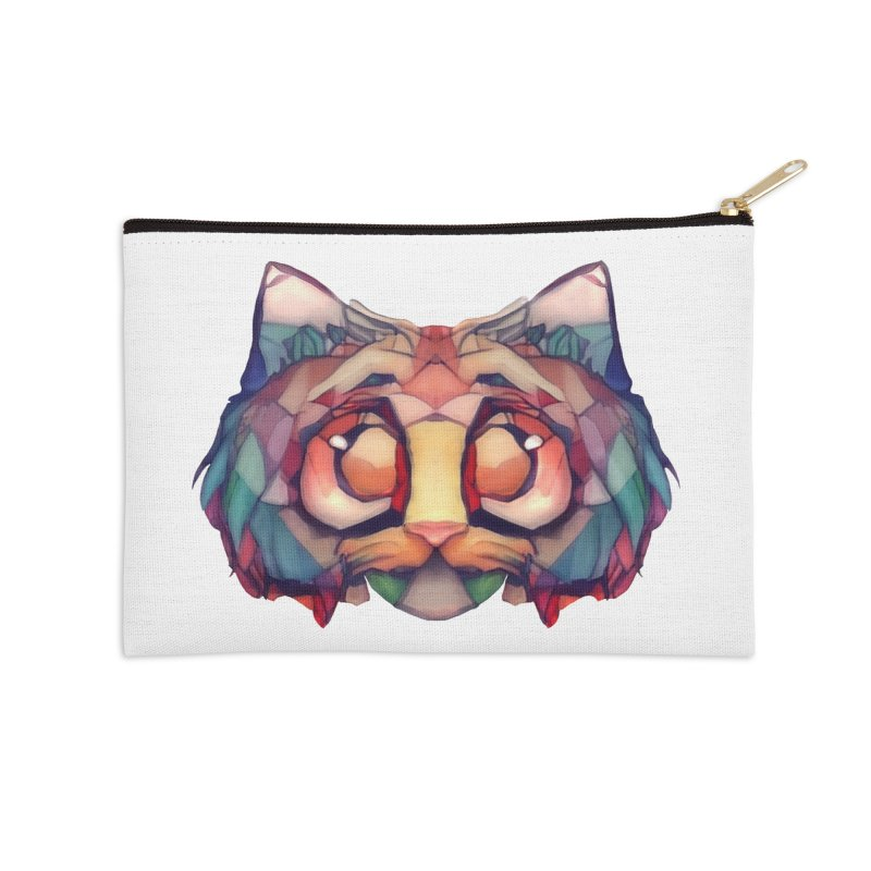 Flying Head Accessories Zip Pouch by Catopathy