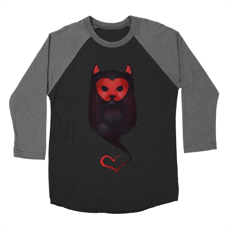 Mr. Valentine Women's Baseball Triblend T-Shirt by Catopathy