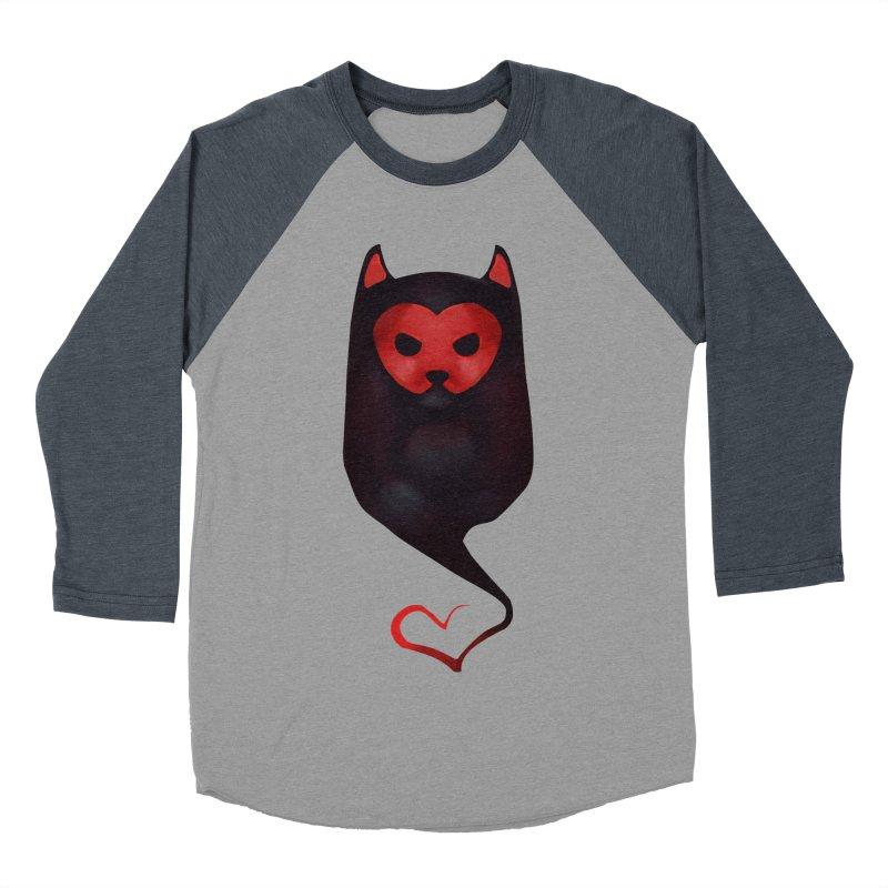 Mr. Valentine Men's Baseball Triblend T-Shirt by Catopathy