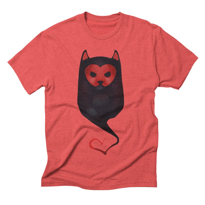 Mr. Valentine Men's Triblend T-shirt by Catopathy