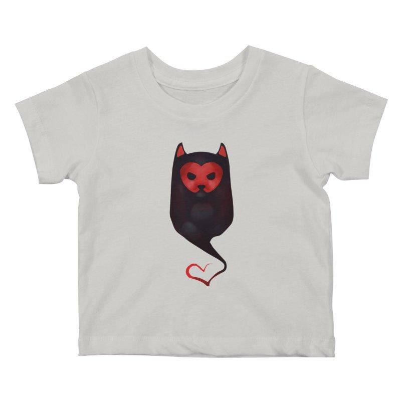 Mr. Valentine Kids Baby T-Shirt by Catopathy