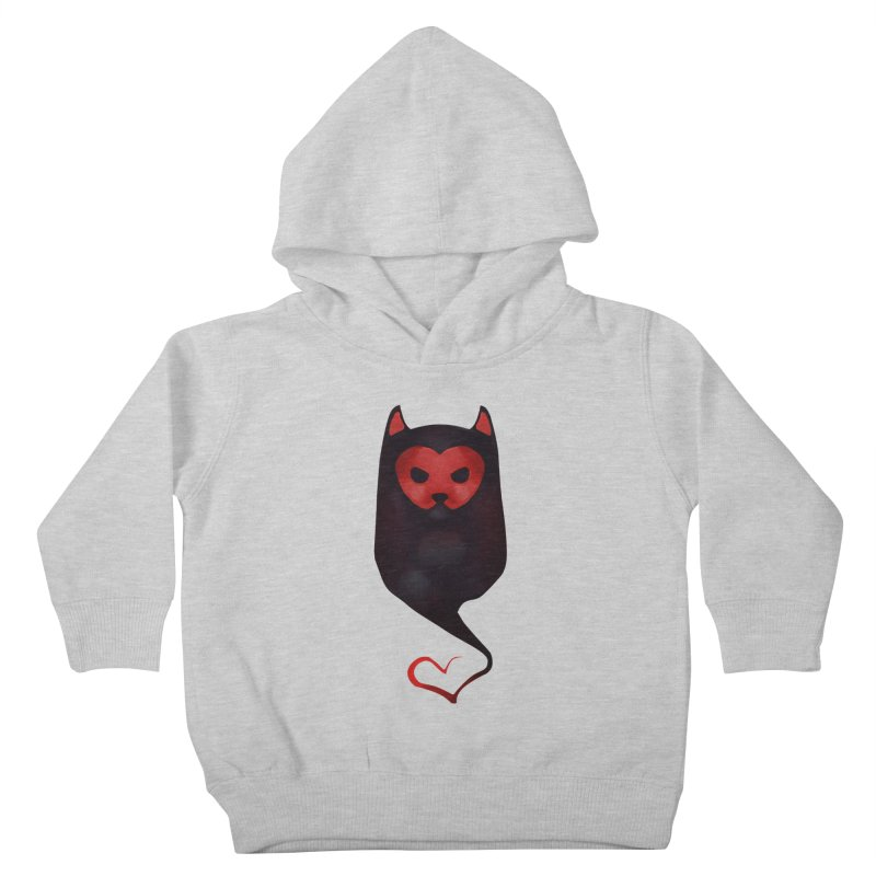 Mr. Valentine Kids Toddler Pullover Hoody by Catopathy
