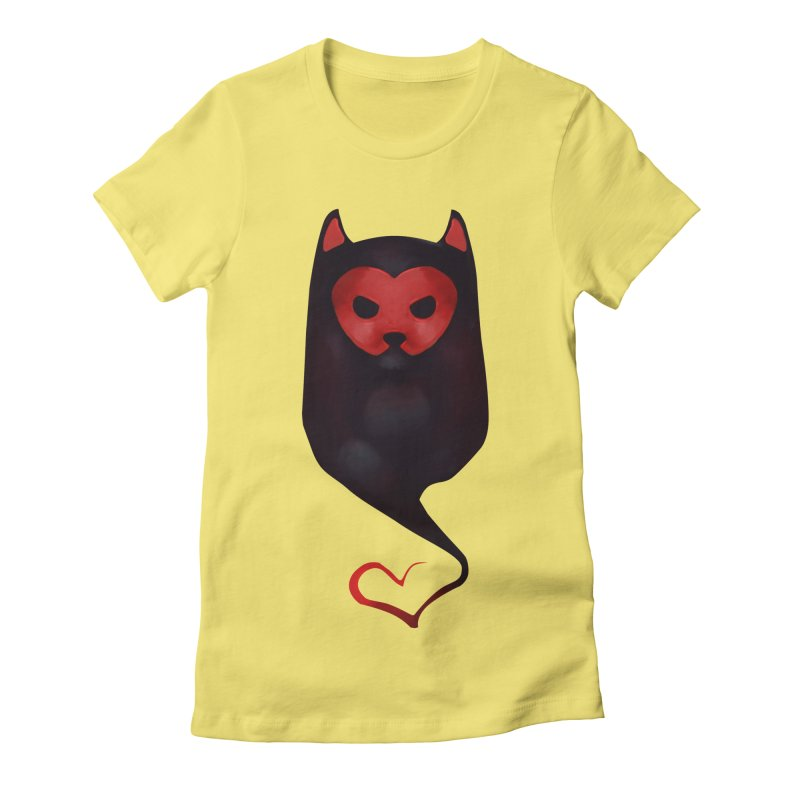 Mr. Valentine Women's Fitted T-Shirt by Catopathy