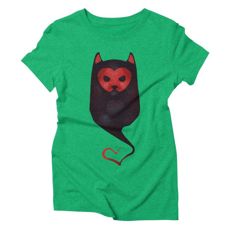 Mr. Valentine Women's Triblend T-Shirt by Catopathy