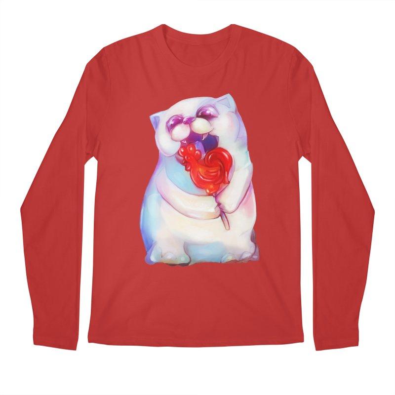 Yummy! Men's Longsleeve T-Shirt by Catopathy
