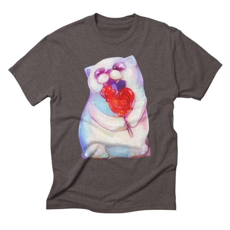 Yummy! Men's Triblend T-Shirt by Catopathy