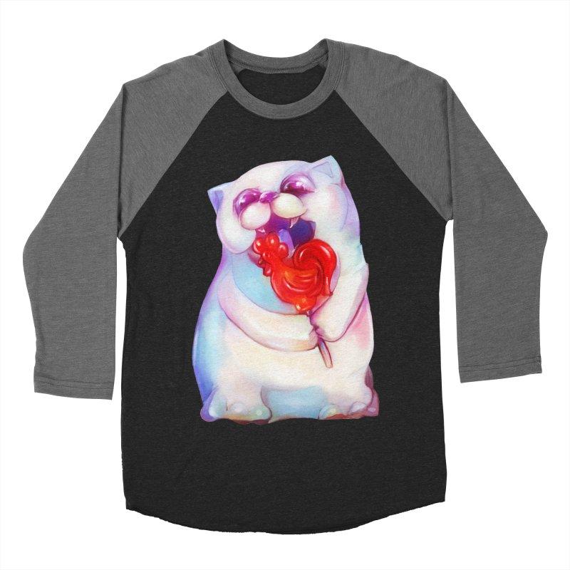 Yummy! Women's Baseball Triblend T-Shirt by Catopathy