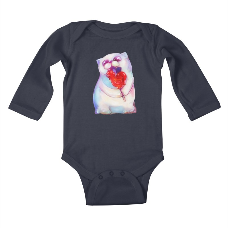 Yummy! Kids Baby Longsleeve Bodysuit by Catopathy