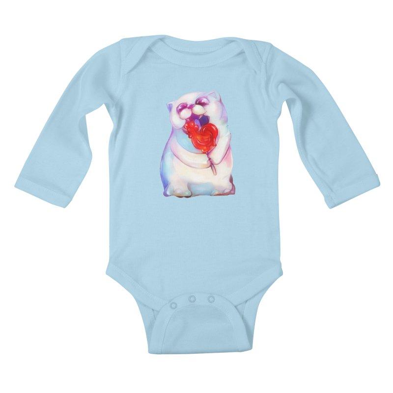 Yummy! Kids Baby Longsleeve Bodysuit by Catopathy