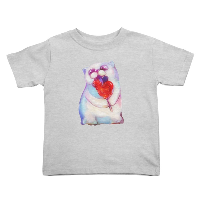 Yummy! Kids Toddler T-Shirt by Catopathy