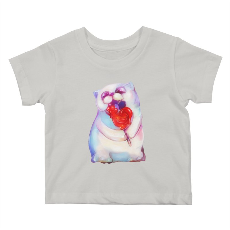 Yummy! Kids Baby T-Shirt by Catopathy