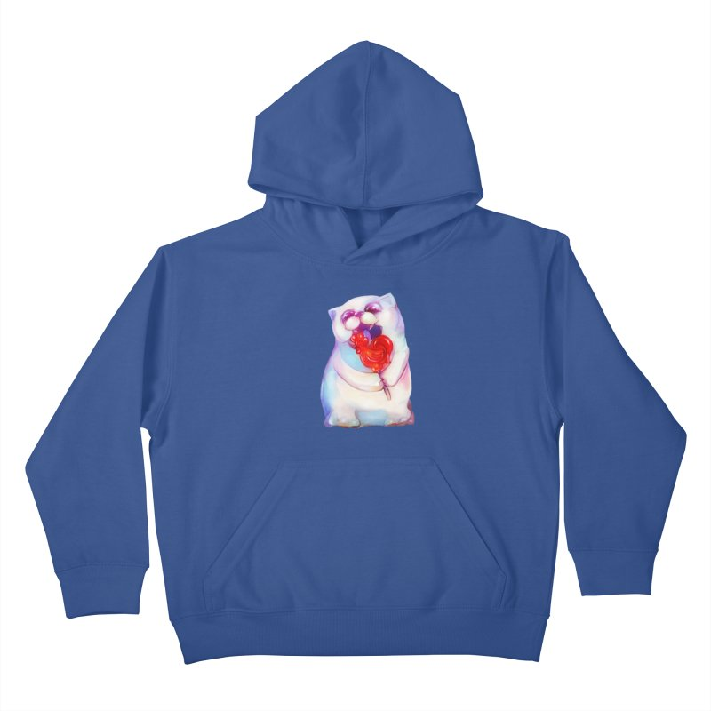Yummy! Kids Pullover Hoody by Catopathy