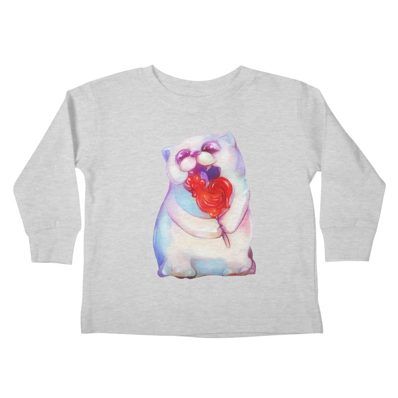Yummy! Kids Toddler Longsleeve T-Shirt by Catopathy