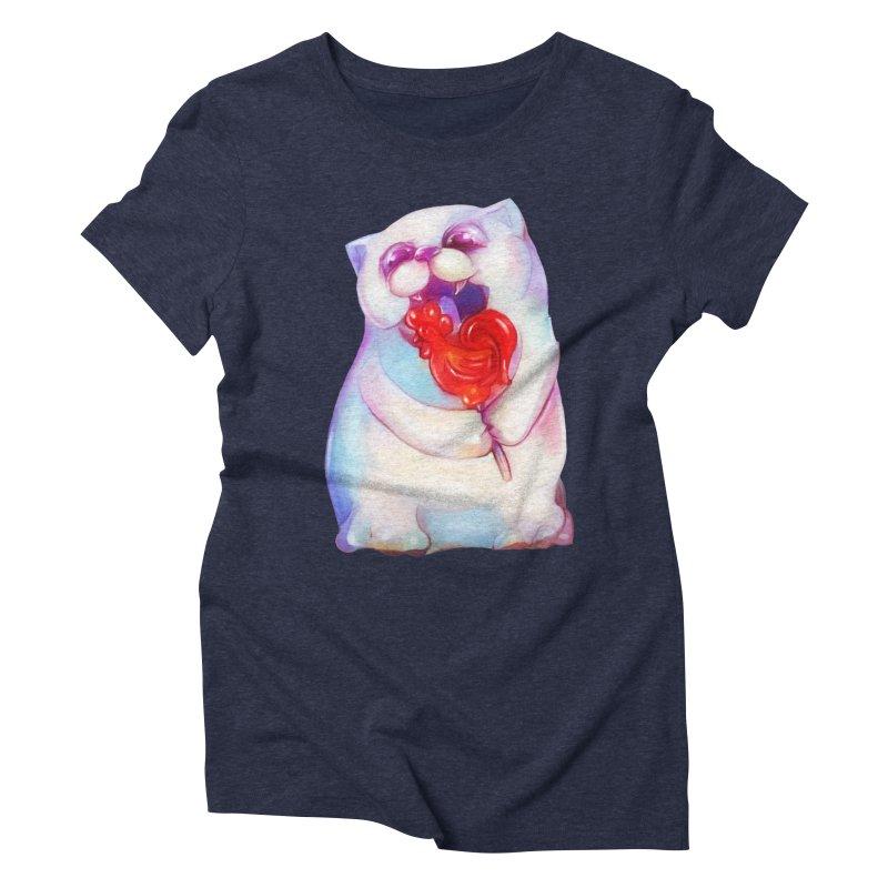 Yummy! Women's Triblend T-shirt by Catopathy