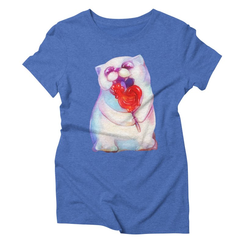 Yummy! Women's Triblend T-shirt by Catopathy