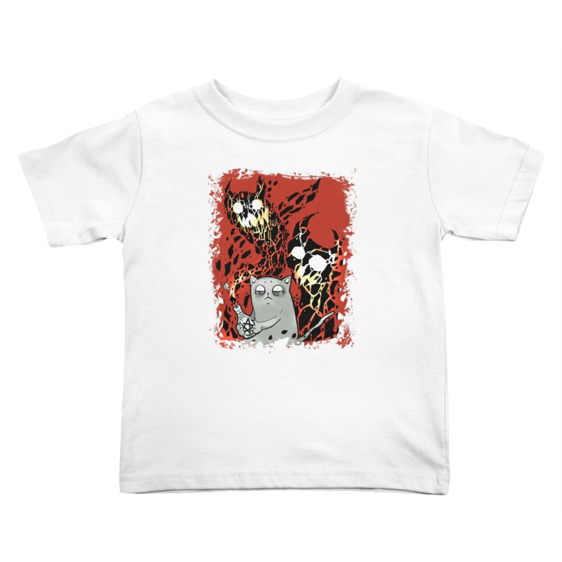 Ooops! Kids Toddler T-Shirt by Catopathy