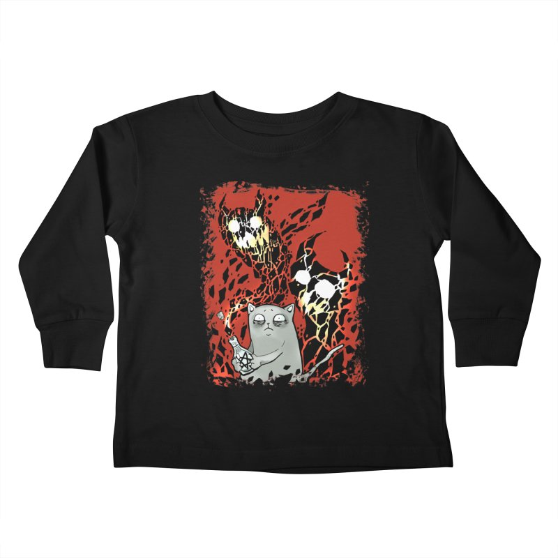 Ooops! Kids Toddler Longsleeve T-Shirt by Catopathy