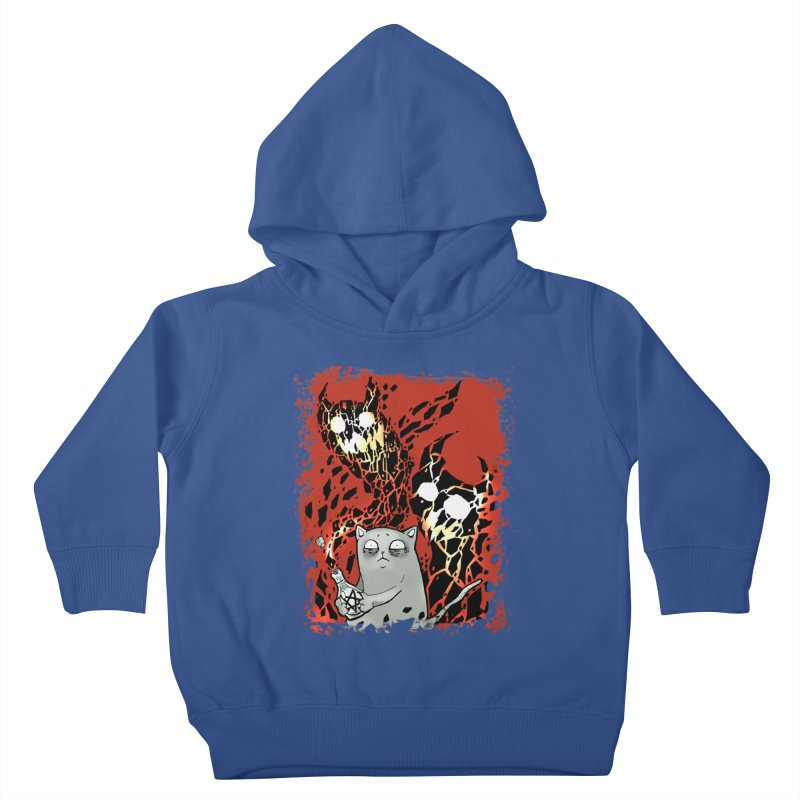 Ooops! Kids Toddler Pullover Hoody by Catopathy
