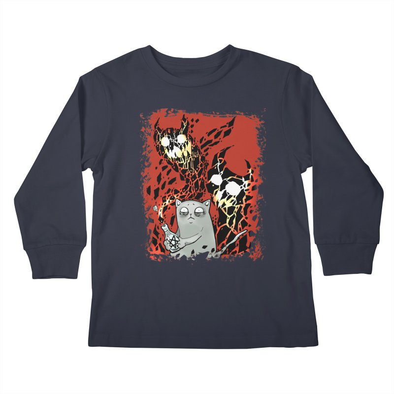 Ooops! Kids Longsleeve T-Shirt by Catopathy