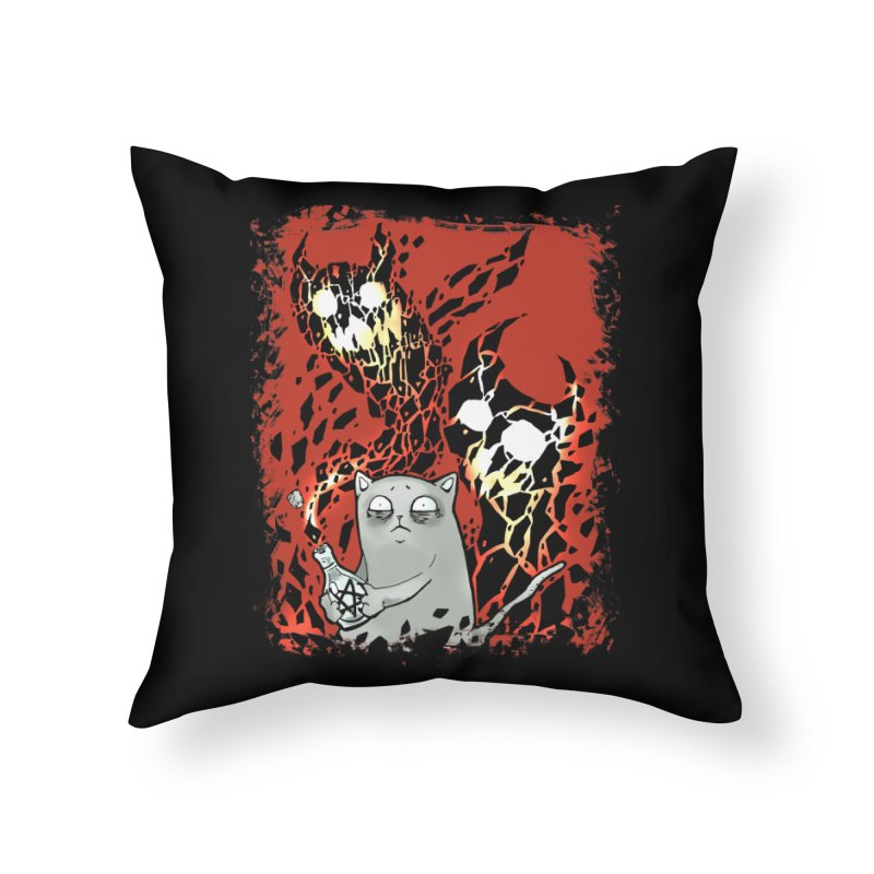 Ooops! Home Throw Pillow by Catopathy