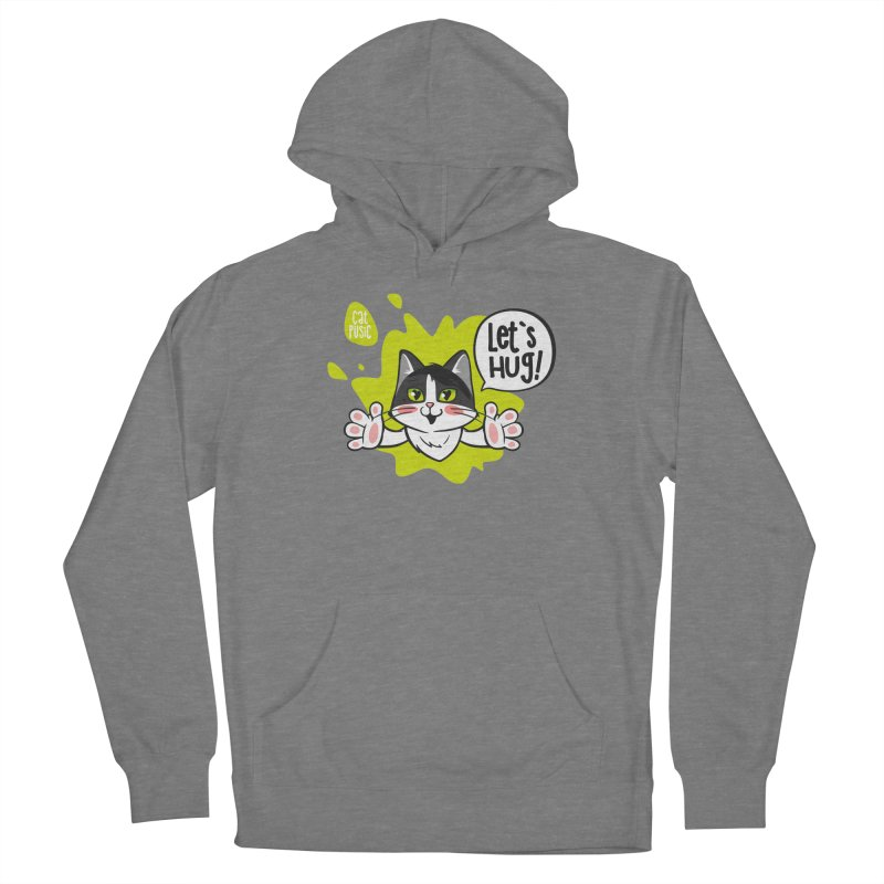 Let's hug! Men's Pullover Hoody by SHOP CatPusic