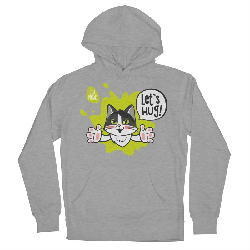Let's hug! Women's Pullover Hoody by SHOP CatPusic