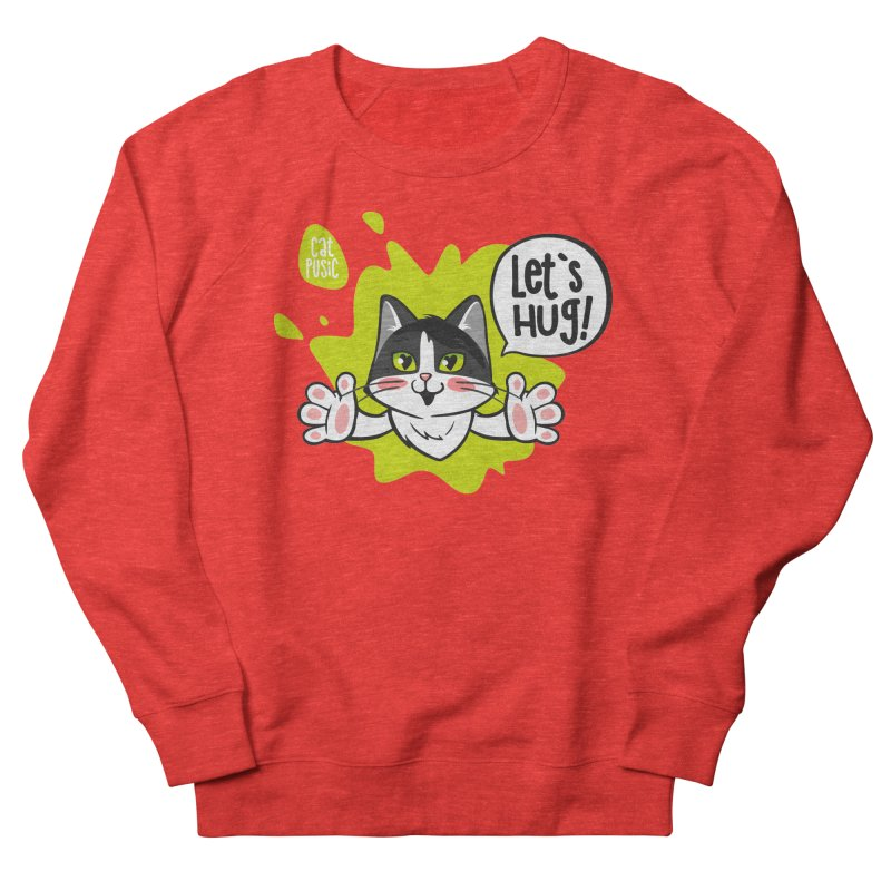 Let's hug! Women's Sweatshirt by SHOP CatPusic