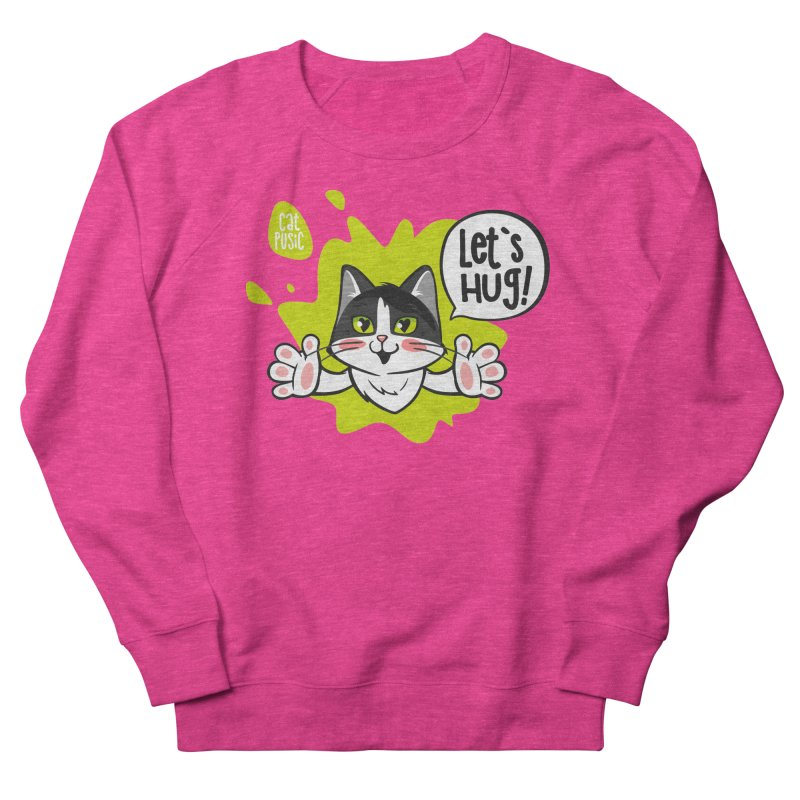 Let's hug! Men's Sweatshirt by SHOP CatPusic