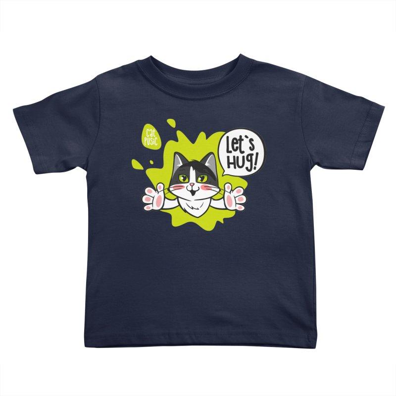 Let's hug! Kids Toddler T-Shirt by SHOP CatPusic