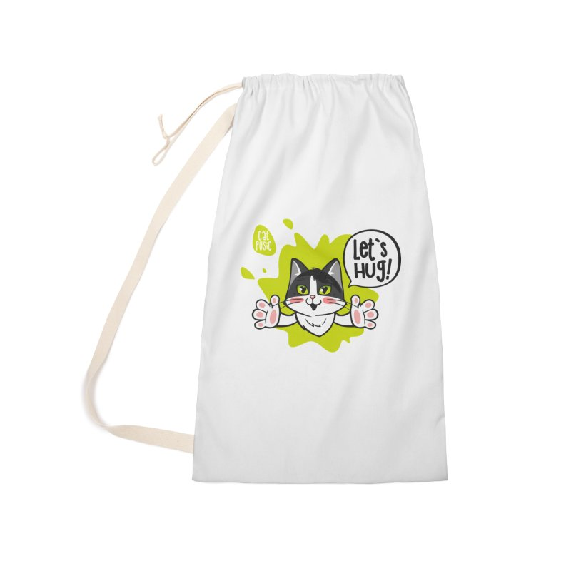 Let's hug! Accessories Laundry Bag Bag by SHOP CatPusic