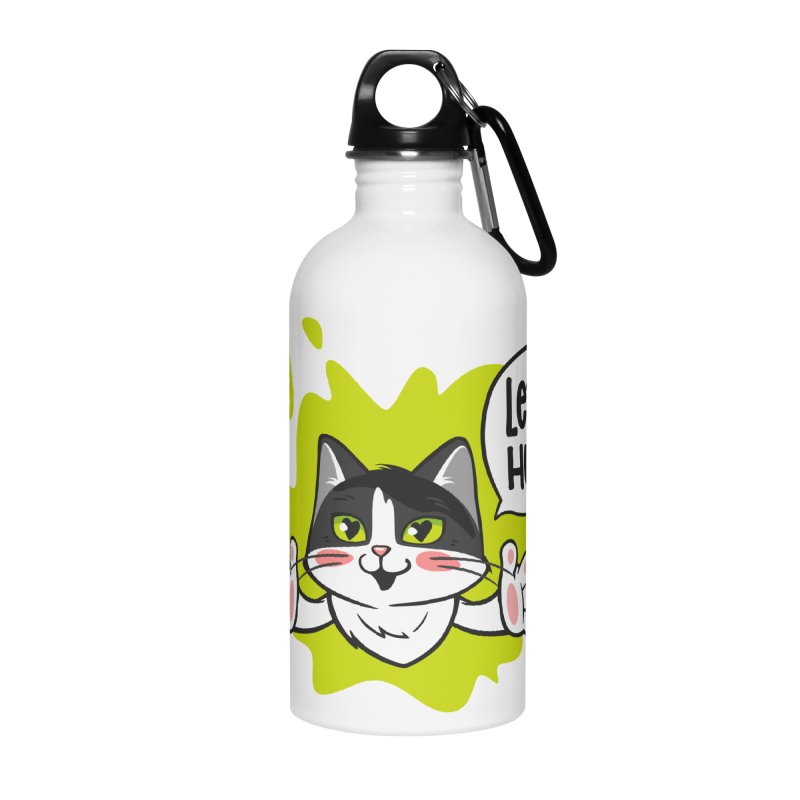 Let's hug! Accessories Water Bottle by SHOP CatPusic