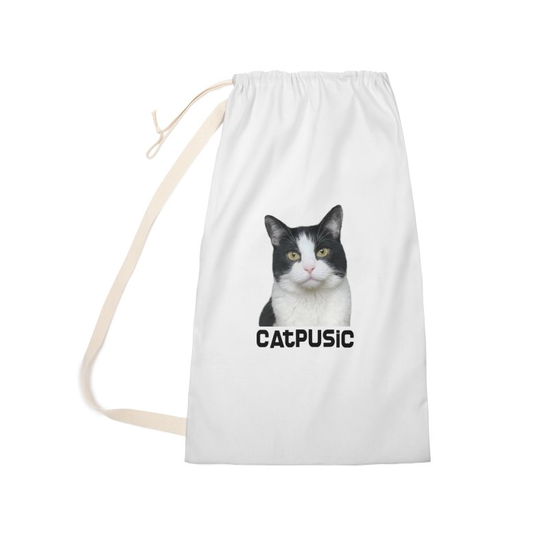 CatPusic Accessories Laundry Bag Bag by SHOP CatPusic