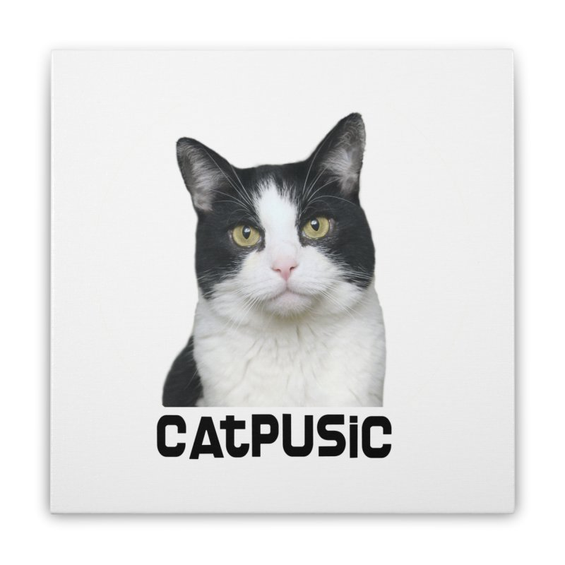 CatPusic Home Stretched Canvas by SHOP CatPusic
