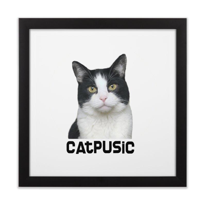 CatPusic Home Framed Fine Art Print by SHOP CatPusic