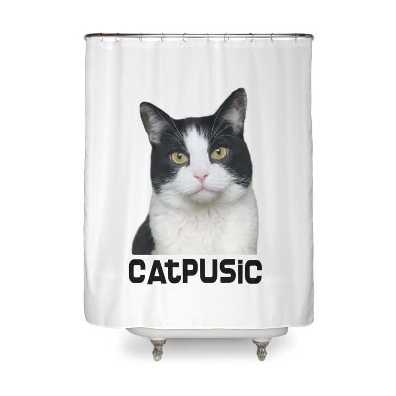 CatPusic Home Shower Curtain by SHOP CatPusic