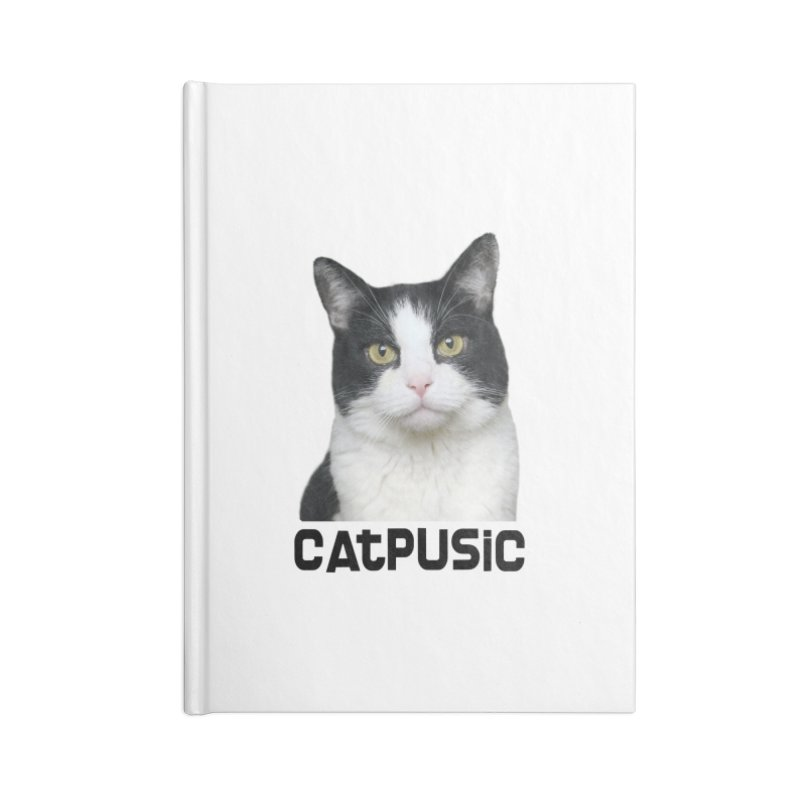 CatPusic Accessories Lined Journal Notebook by SHOP CatPusic