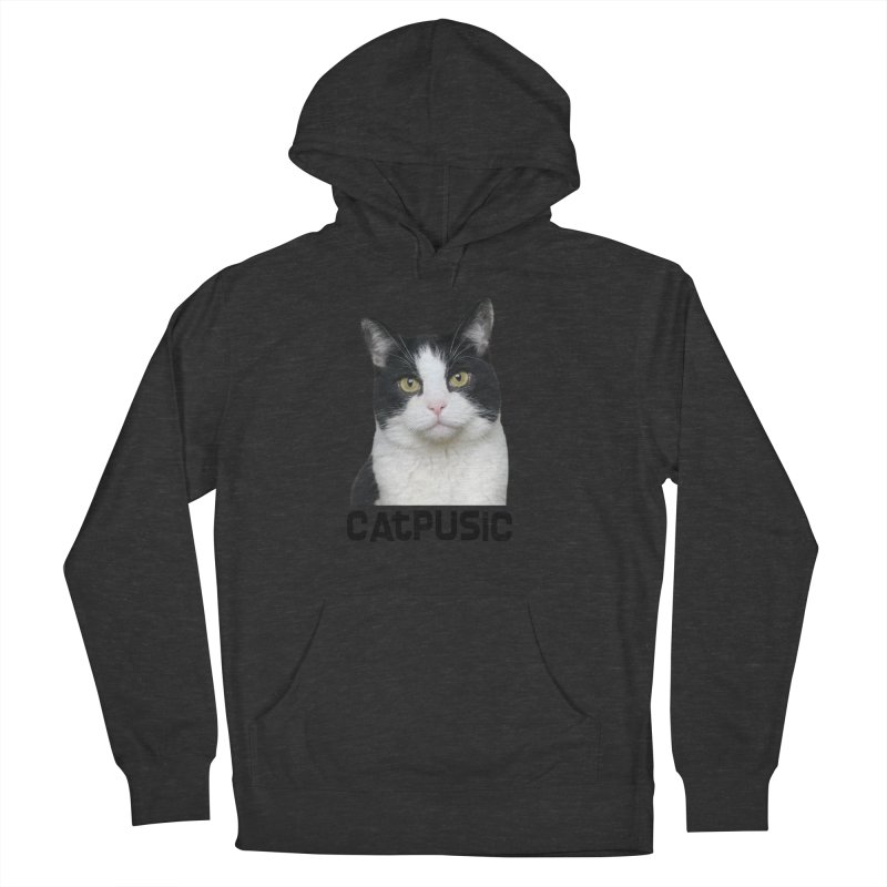 CatPusic Men's French Terry Pullover Hoody by SHOP CatPusic