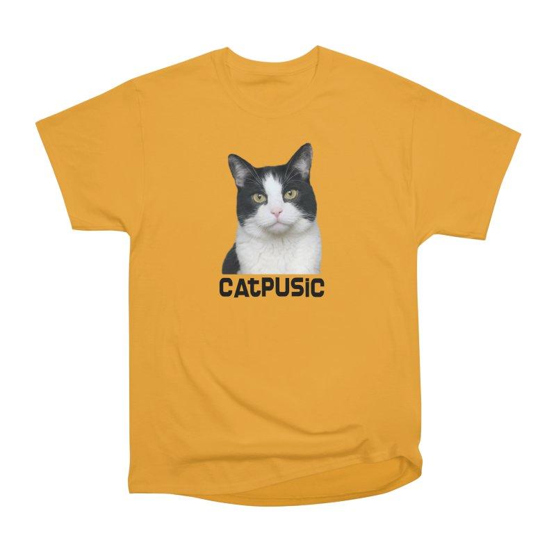 CatPusic Men's Heavyweight T-Shirt by SHOP CatPusic